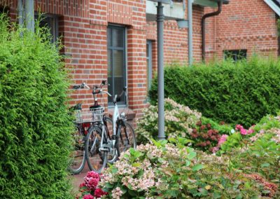 Museumshof Terrasse Fahrrad 735